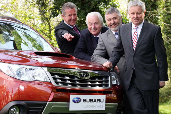 Subaru Ireland And First Auto Finance Take To The Streets